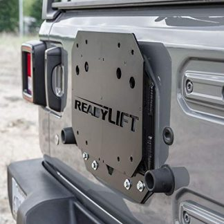 Jeep JL Wrangler Oversized Spare Tire Relocation Bracket