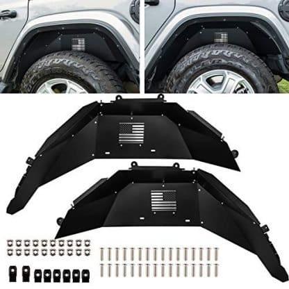 Jeep JL Rear Inner Fender Flare Protection Kit