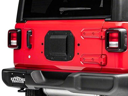 Barricade Spare Tire Delete Plate with License Plate Mount