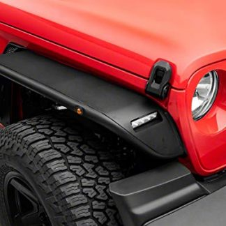 Barricade Tubular Front Fender Flares with LED Lights
