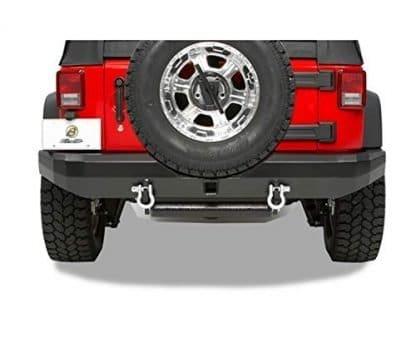 Bestop Highrock Rear Bumper With Receiver Hitch