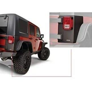 Bushwacker Jeep Rear Corner Body Armor