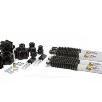 Daystar Jeep JK Wrangler 3 Inch Lift Kit with Bump Stop Extensions