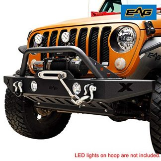 EAG Front Bumper with Lower Skid Plate for Jeep Gladiator JT