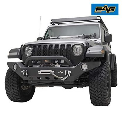 EAG Full Width Front Bumper with Fog Light Holes