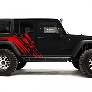 Factory Crafts Splash Jeep Wrangler Side Graphics Kit