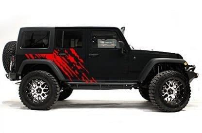 Factory Crafts Splash Jeep Wrangler Side Graphics Kit