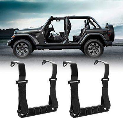 BORDAN Jeep JK Front Metal Roll Bar Handles Kit