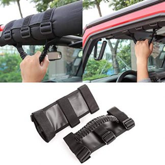 Jeep Wrangler Unlimited Headrest Grab Handles
