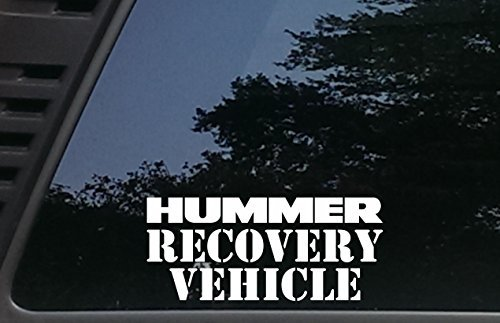 Hummer Recovery Vehicle Decal