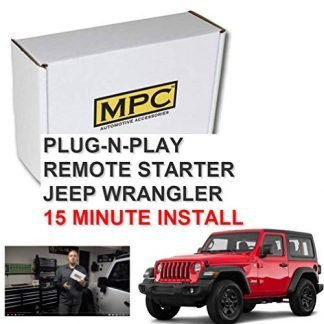 Plug-n-Play Remote Starter for Jeep Wrangler JK