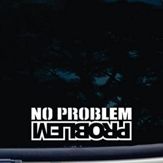 No Problem Problem Jeep Decal