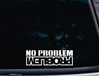 No Problem Problem Jeep Decal