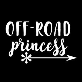 Off Road Princess Decal
