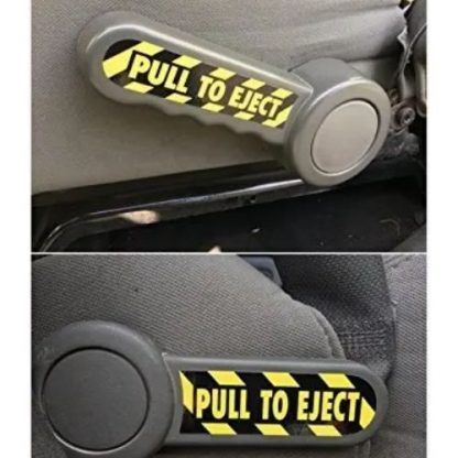 PULL TO EJECT Jeep Interior Decal Set