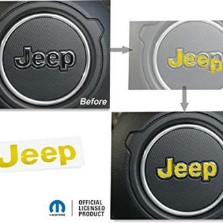 Reflective Concepts Jeep Steering Wheel Lettering Overlay Decal