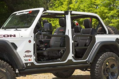 Rugged Ridge Black Jeep JL Front Tube Doors