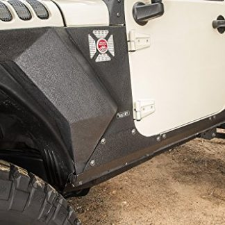Jeep JK Rugged Ridge Steel Rocker Panel Guards