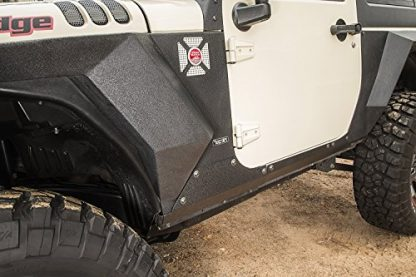 Jeep JK Rugged Ridge Steel Rocker Panel Guards