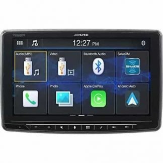 Single Din Alpine 9 Inch Touchscreen Jeep JL Digital Stereo