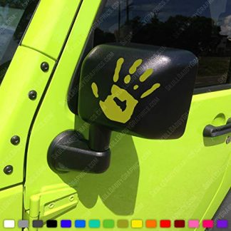 Jeep Wave Decal Stickers