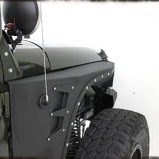 Smittybilt XRC Armored Front Fenders for Jeep JK Wrangler