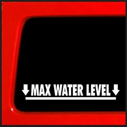 Jeep Max Water Level Decal