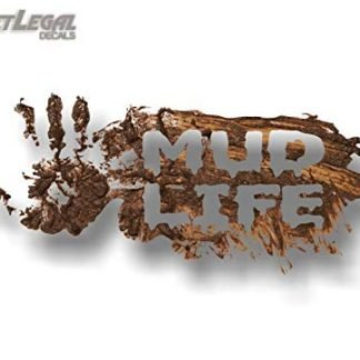 Mud Life Off-roading Jeep Decal