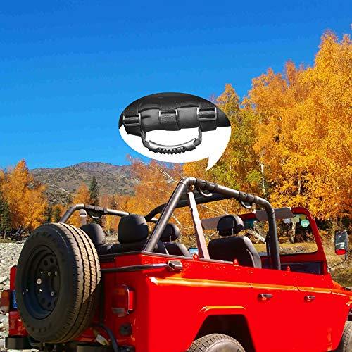 JT Jeep Gladiator Grab Handles - BlackDogMods