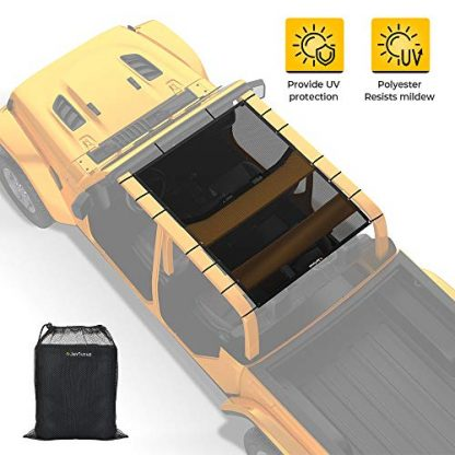 Jeep Gladiator JTU Sunshade Mesh Top Cover
