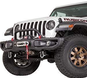 WARN Low Profile Gladiator Front Bumper with Grille Guard Tube