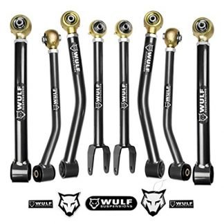 WULF Jeep JK Front and Rear Control Arms Kit