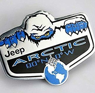 Jeep Artic Edition Badge Emblem