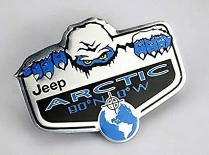Jeep Artic Edition Badge Emblem