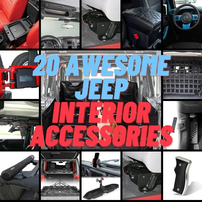 20 Awesome Jeep Interior Accessories