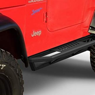 iArmor Jeep Wrangler TJ Off-Road Black Side Steps