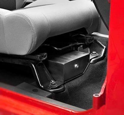Bestop Jeep Passenger Side Underseat Lock Box