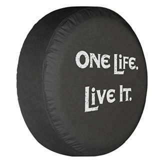 Boomerang One Life Live It Spare Tire Cover