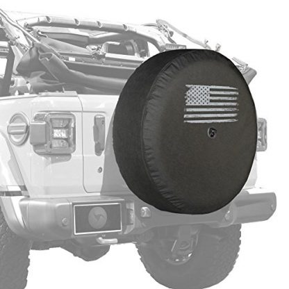 Boomerang Jeep Wrangler JL American Flag Tire Cover