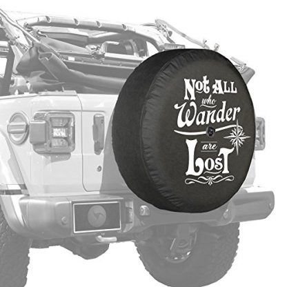 Boomerang Jeep Wrangler JL Tire Cover with Back-up Camera Hole