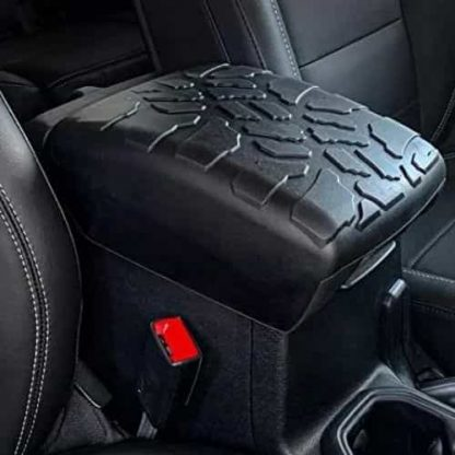 Boomerang Tire Tread Center Console Cover for Jeep Wrangler JL