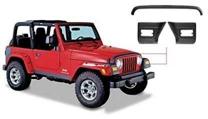Bushwacker Jeep TJ Trail Armor Guards