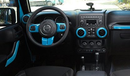 Jeep Wrangler Unlimited Full Set Interior Trim Kit