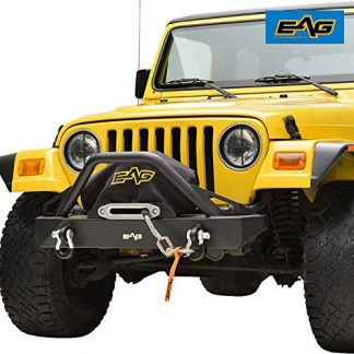 Jeep TJ EAG Front Bumper with D-Rings and Winch Plate