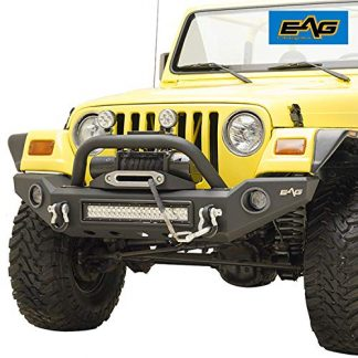 EAG Jeep TJ LED Front Bumper with Light Surrounds