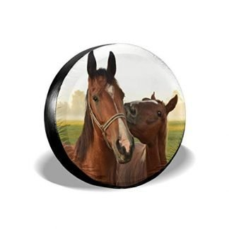 Jeep Realistic Horses Spare Tire Cover
