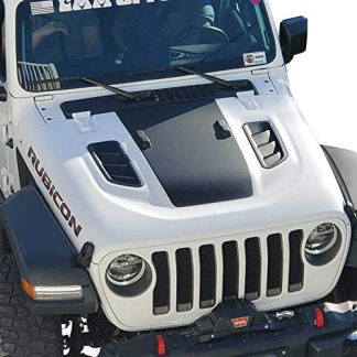 Jeep Rubicon Hood Blackout Decal
