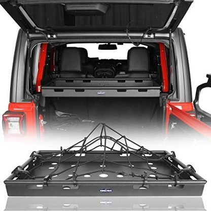 Hooke Road Jeep JLU Cargo Basket Rack