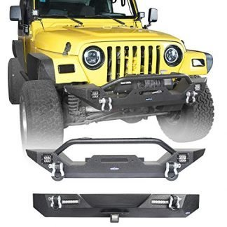 Hooke Road Wrangler TJ Front and Rear Bumpers