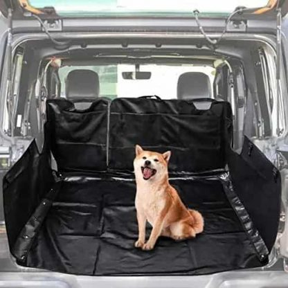 Jeep JK Black Pet Trunk Liner